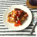 サルサソースと胸肉で、メキシカン・チキン