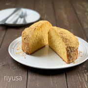 【素朴な味がクセになるおやつ】きな粉のドームケーキ