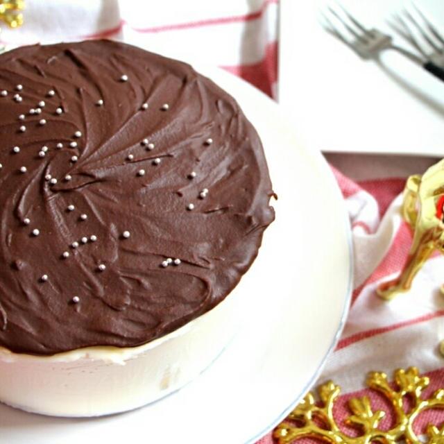 【簡単!!】ちょっとリッチ♪チョコバナナチーズケーキ