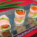 ヤマサおせちグランプリで公式認定レシピに  『スモークサーモンの洋風絹田巻き』★チャイナタウン春節とバンコクのふかひれ♪