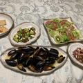 ムール貝メインの晩御飯♪