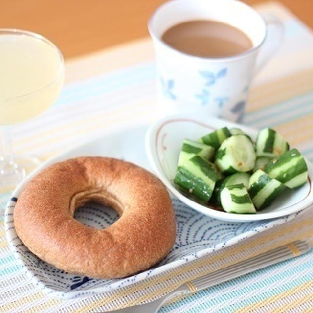 1月13日(水) 低糖質パン「ふすぼん」 de 朝ごはん