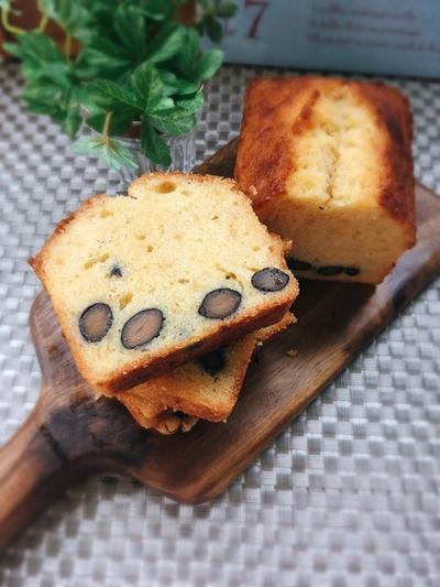 [LIMIA]癖になる☆味噌と黒豆の和パウンドケーキ。