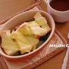 厚切りベーコンのグラタンスープ
