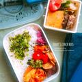 タッカルビ弁当・豚のトマト煮弁当・ほうじ茶シフォン