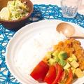【管理栄養士のお野菜たっぷりレシピ】30分で完成☆お野菜たっぷりのトマトキーマカレー♪
