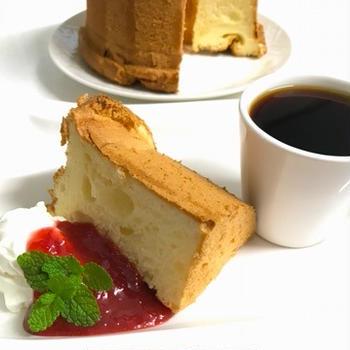 ヴァニラミルクシフォンとドッグカフェ