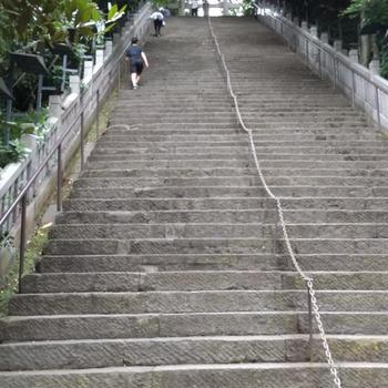 愛宕神社 「出世の石段」