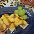 生ハムと柿のオードブルカナッペ