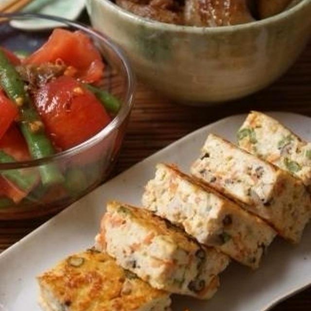 和デリ大集合!フライパンでカンタン擬製豆腐