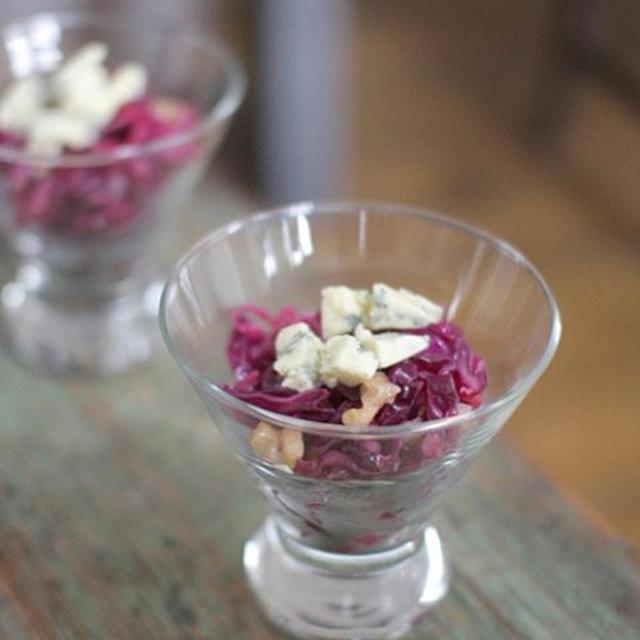紫キャベツとくるみのサラダ