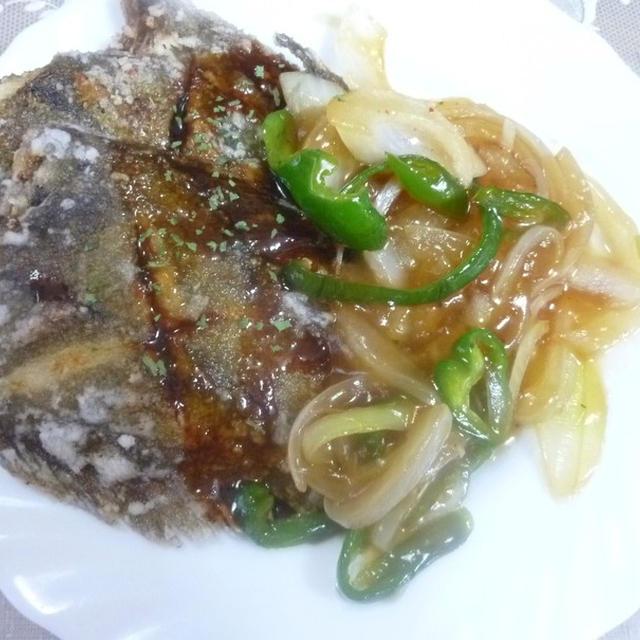 今日は、お魚で♪姑も喜ぶ中華風メニューで♪
