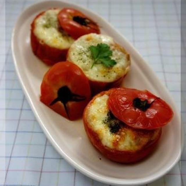 * モッツァレラとトマトのファルシードリア♪