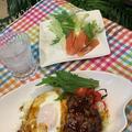 手短に作れるロコモコ丼で晩ごはん~30分で姿を変える今朝の富士山 ♪♪ by pentaさん