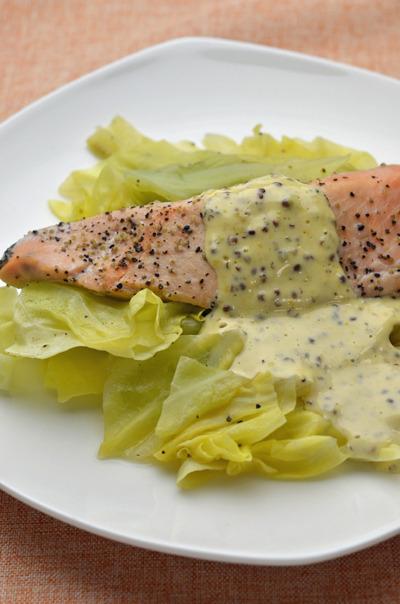 鮭とキャベツのフライパン蒸し by rumiさん | レシピブログ - 料理 ...