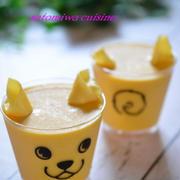 可愛いカップシリーズで♡パンプキンチーズムース♡
