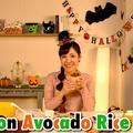 ハロウィン サーモンアボカド丼(キッチンがなくても作れる簡単パーティーレシピ♪)| 海外向け日本の家庭料理動画 | OCHIKERON by オチケロンさん