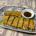小松菜のチヂミ