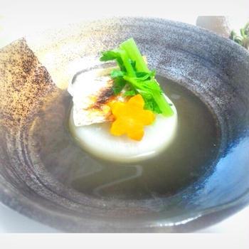 真鯛と三浦大根の含ませ煮~端午の節句にめで鯛~