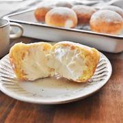【30分でできる魔法のパン】ふわもち エンゼルクリームドーナツ