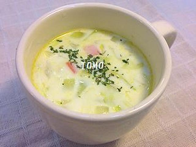 オートミールジンジャースープ