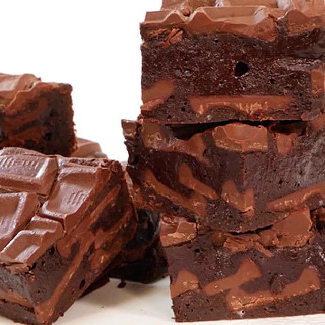 板チョコで簡単しっとり濃厚ブラウニー