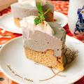 お砂糖なし!黒胡麻レアチーズ&黄な粉ベイクドチーズケーキ