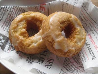 型なしで作れるドーナツ(オールドファッション・プレーン&あんこ)