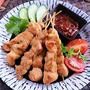 鶏むね肉を極めよう☆インドネシアの焼き鳥サテー