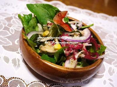 サラダほうれん草のレシピ10選|サラダほうれん草に合う食材
