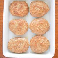 【スパイス大使】豚ひき肉と豆腐のセボリーしょうゆバーグ