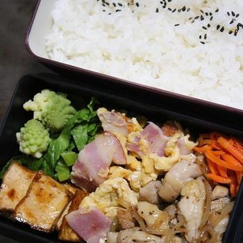 2月8日  鶏の スパイシー炒め弁当