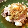 美味の塊。大蒜ゴマぽん豚の辛しゃぶは夏バテなんて許可しない。(糖質7.3g) by ねこやましゅんさん