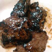 GABANタイム<フリーズドライ>で牛肉の焼肉のたれ漬けを作ったよ