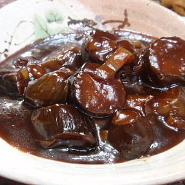 味わい鍋で作る、茄子のチリソース煮(レシピ付)