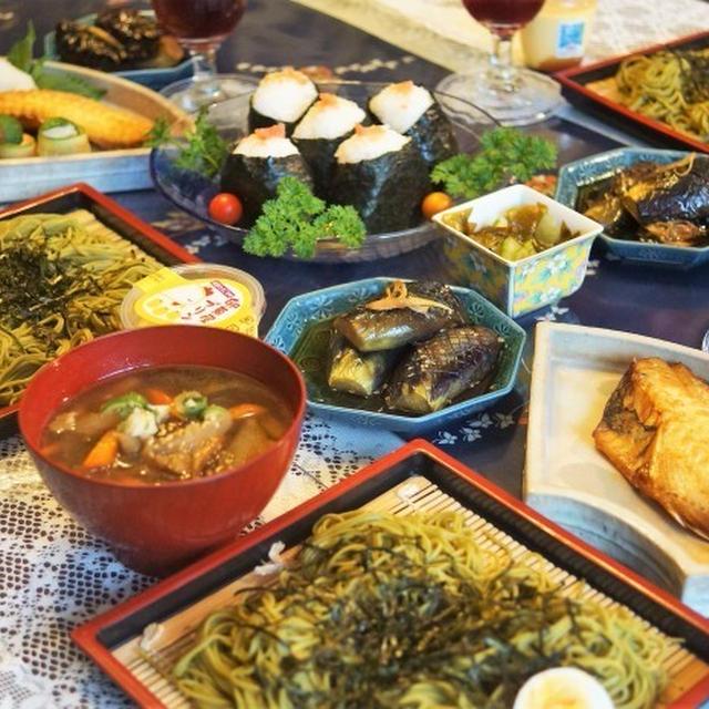 ■続・お盆のおもてなし料理【けんちんつけ蕎麦ランチ他】