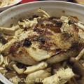 塩麹チキンときのこのハーブグリル 魚焼きグリルで(^_-)-☆