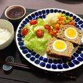 実は簡単?!ゆで卵入りミートローフ【おもてなし料理】