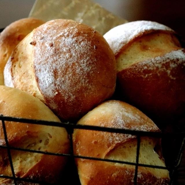 オートミール入りのパン&にゃ♪