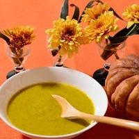 ハロウィン♪かぼちゃスープ