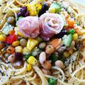 ひと口食べたら不思議な食感【ブラウンライス】&豆類と野菜で旨い❤