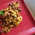 ナッツのキャラメリゼ醤油餅