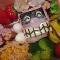 バイキンマン弁当♡キャラ弁♡可愛いお弁当 by manaママさん