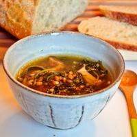 【大地のスープ】心も体も癒されるスープです