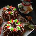 クリスマス仕様なチョコケーキ