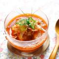 電子レンジで作る簡単トマトスープ