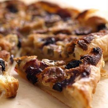 セニョリータバナナとブルーベリーのパイ