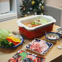 【レシピ】なべしゃぶ♪ガーリックトマトつゆ