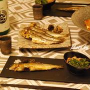 日本酒と鮎と蕎麦で小料理屋飯