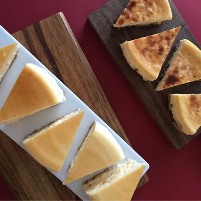 NYチーズケーキ&ラムレーズンチーズケーキ&エシレバターのクッキー